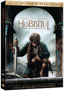 Hobbitul:Batalia celor cinci osti - de The Hobbit:The Batle of the five armies:Ian McKellen, Martin Freeman, Richard Armitage