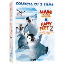Mumble cel mai tare dansator & Mumble danseaza din nou - de Happy Feet 1 & Happy Feet 2