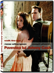 Povestea lui Johnny Cash - de Walk the line:Joaquin Phoenix,Reese Witherspoon