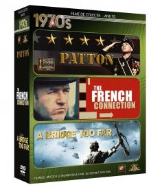 Patton/ The French Connection/A bridge too far - de Decade 1970