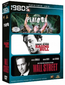Platoon/ Ranging bull/ Wall Street - de Decade 1980